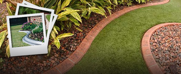 Garden Edging Ideas Pictures Amazing Lawn Edging Ideas That Lend Lawn G